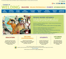 Careers in Welding Website
