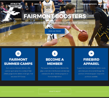 Fairmont Athletic Boosters Website