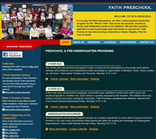 Faith Preschool Website