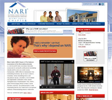 NARI Dayton Website Designed
