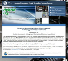 SCC Hybrid Automotive Website